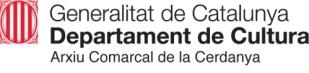Emblema de Generalitat de Catalunya, Departament de Cultura, Arciu Comarcal de la Cerdanya