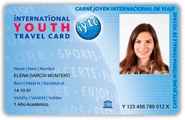 Carnet de jove inernacional IYTC