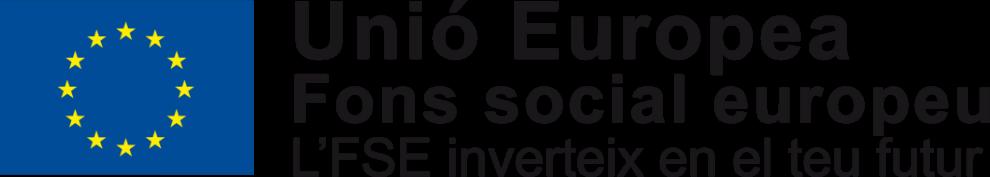 Emblema de la Unió Europea, Fons social europeo, L'FSE inverteix en el teu futur